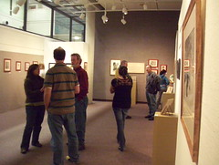 cricket & sparrow show, Kishwaukee College Gallery