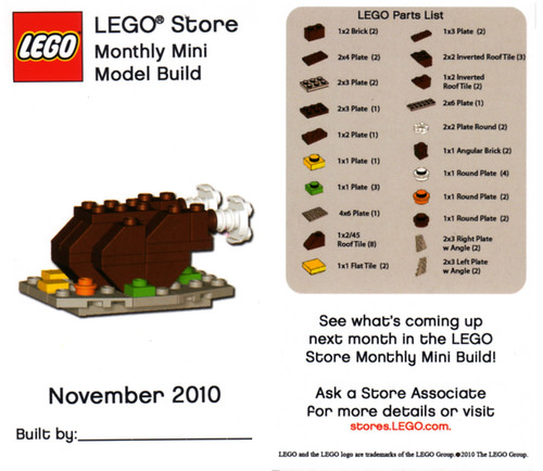 LEGO MMMB November '10 (Turkey Dinner)