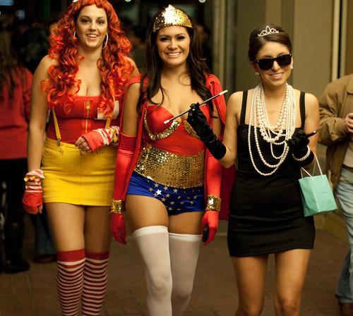 Wonderwoman and Friends