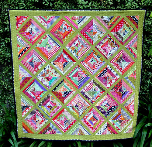 Beehive quilt - front