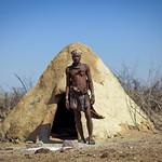 Traditional Himba house - Angola