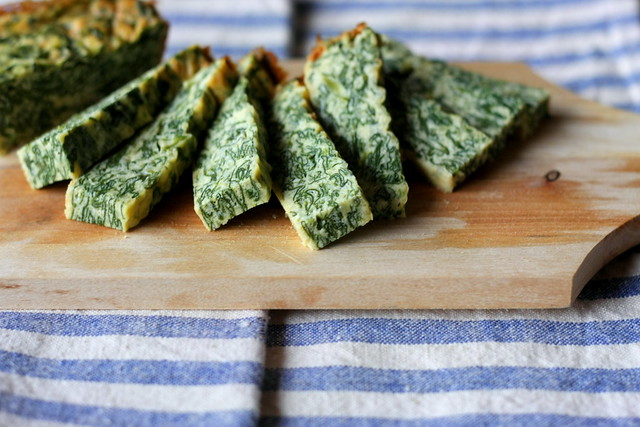 Tortino ricotta e spinaci
