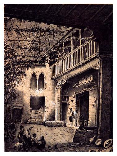 013-Casa arabe en al Albaycin Granada-Recuerdos y bellezas de España-Reino de Granada