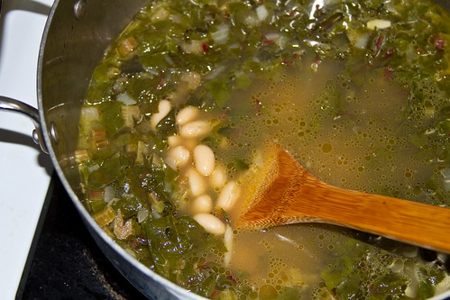 swiss chard soup-10