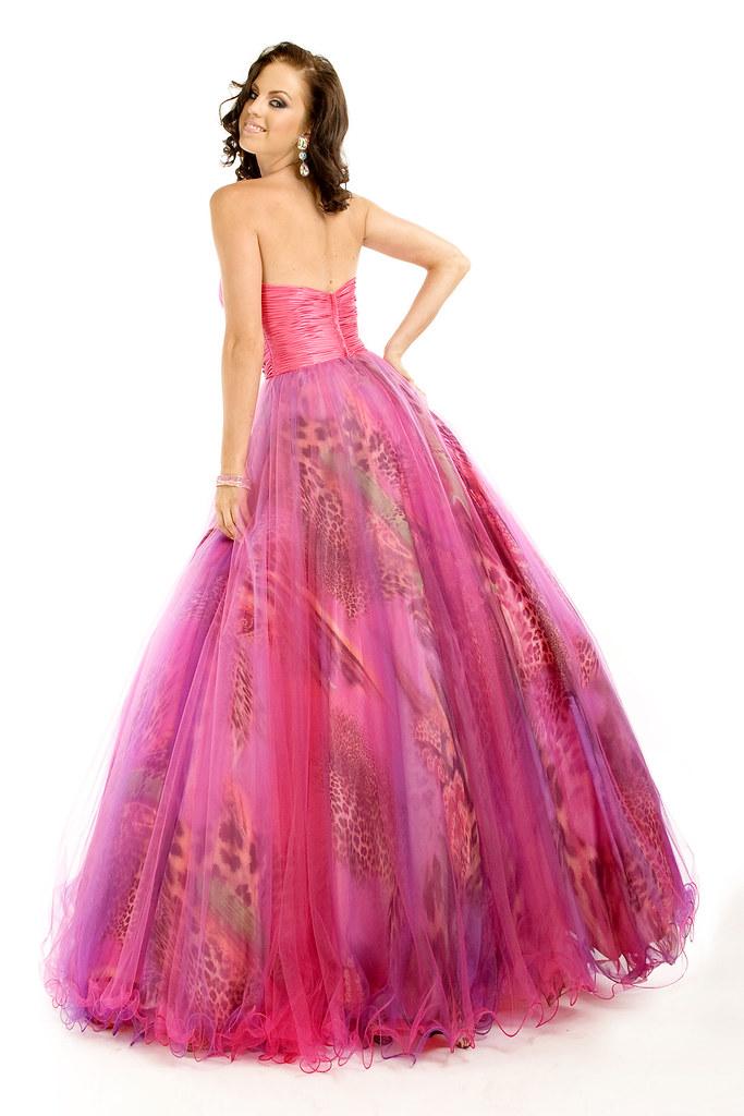 Strapless Sweetheart Princess Prom Dress PTF 6365B