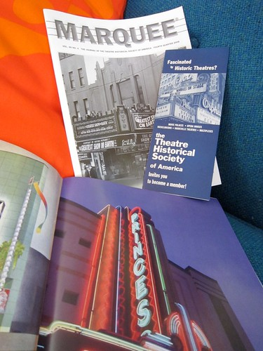 Theatre Historical Society Marquee Magazine