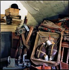 *memories* (silke s.) Tags: 120 6x6 film analog mediumformat germany attic negativescan hasselblad500cm colornegative autaut kodakektar100 silentvisit