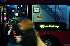 48 via Hackney (Chris JL) Tags: uk color bus london night photo doors open candid streetphotography shoreditch driver eastlondon passer e2c photoderue onabus photographiederue nikond90 fotografadecalle fotografiadistrada nikkor2470mmf28g chrisjl 48viahackney
