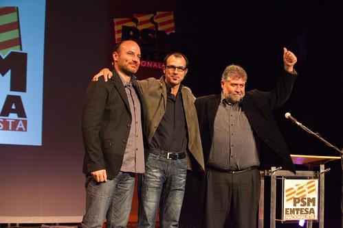 Antoni Verger, Biel Barceló i Joan Font.