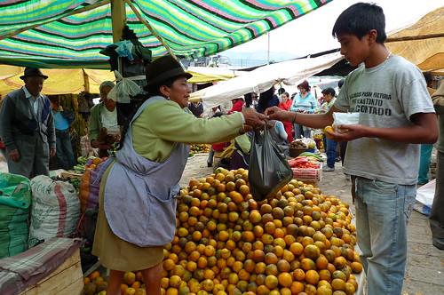 Mercado -  Guaranda, Ecuador
