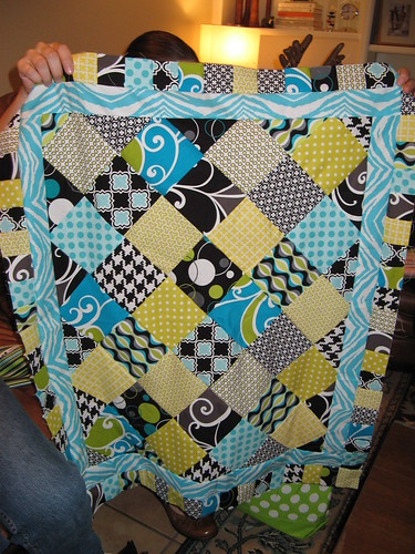 Mandi's beautiful baby quilt!