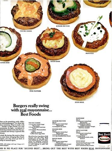 Hellmann's Mayo Burgers Really Swing Ebony June 1968