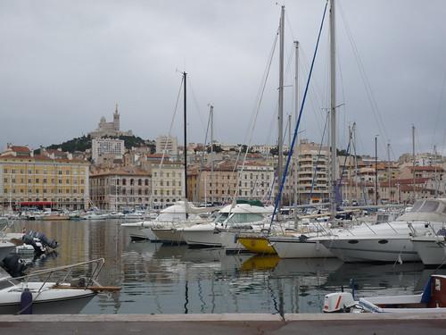 le Vieux Port et Notre-Dame de la Garde