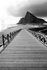 verso gibilterra (Francesco Ferruzzi) Tags: bw mare montagna spagna gibilterra lalneadelaconcepcin