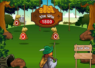 free Robin Hood Feathers of Fortune free spins prize
