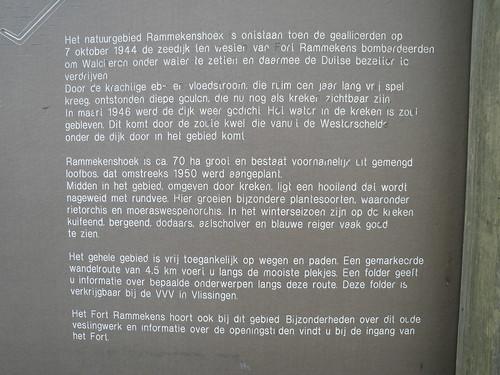 Rammekenshoek infobord tekst