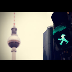 Day 181/365 (marco|g) Tags: berlin tower canon tv streetlight alexanderplatz fernsehturm mitte televisiontower ampelmann project365 efs1755mmf28isusm