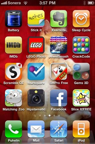 iPhone sovellukset