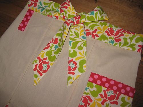 upper city girl apron