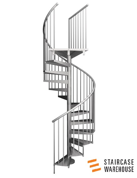 F20 Spiral Staircase 01 (Staircase Warehouse) Tags: Spiral Staircase  Spiralstaircase Metalspiral Steelspiralstaircase