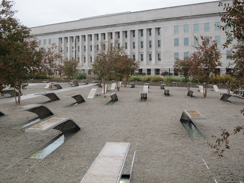 The Pentagon Memorial. (10/14/10)
