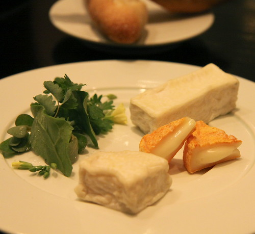 Benu - San Francisco, cheese course