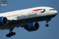 G-VIIX - 29966 - British Airways - Boeing 777-236ER - Heathrow - 100617 - Steven Gray - IMG_4517