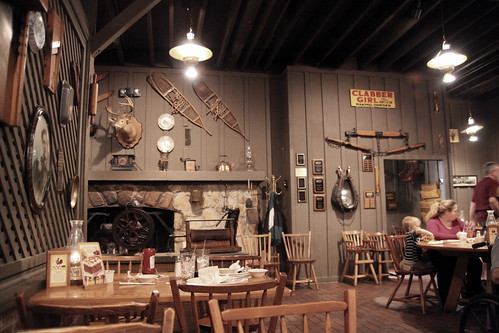 Inside the Cracker Barrel