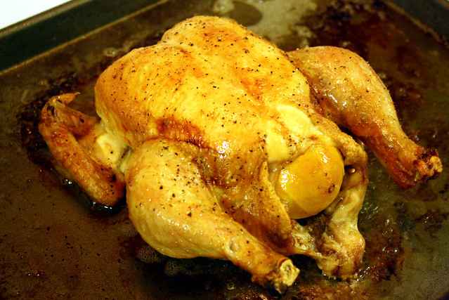 how to cook a 5 pound chicken