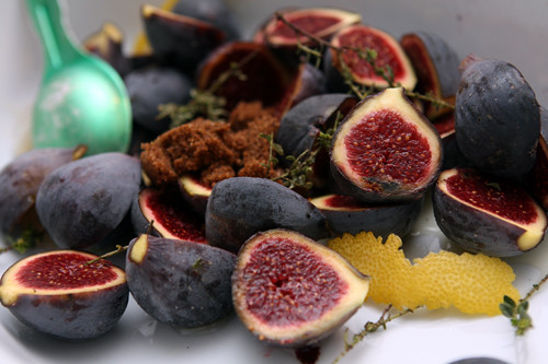Roasted Figs - David Lebovitz