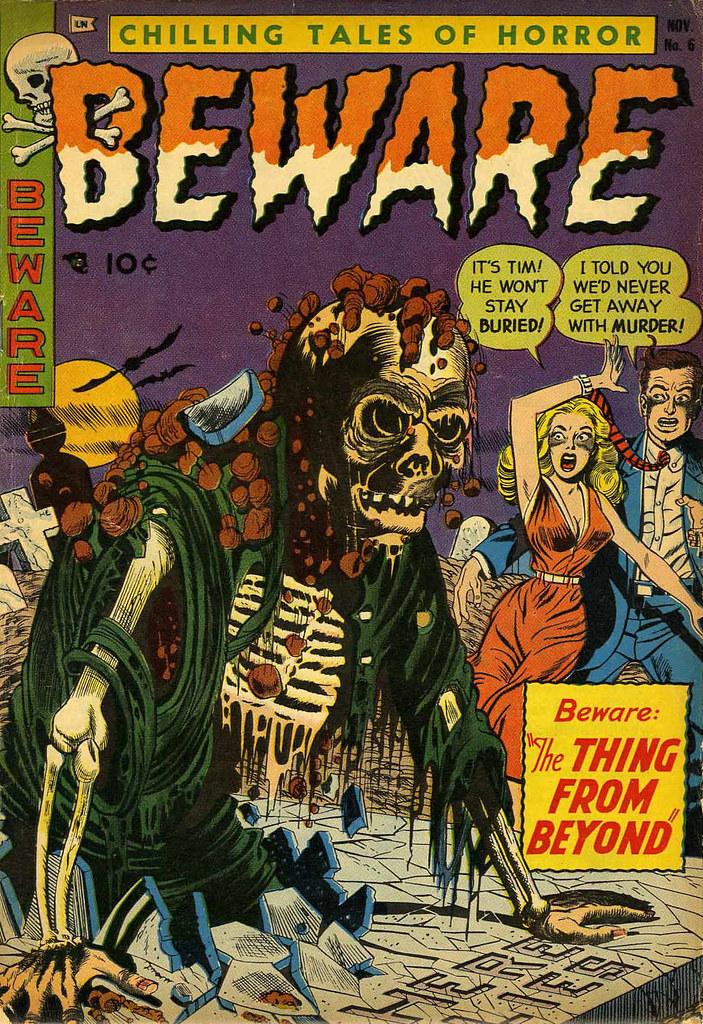 Beware #6 (Trojan/Prime, 1953)