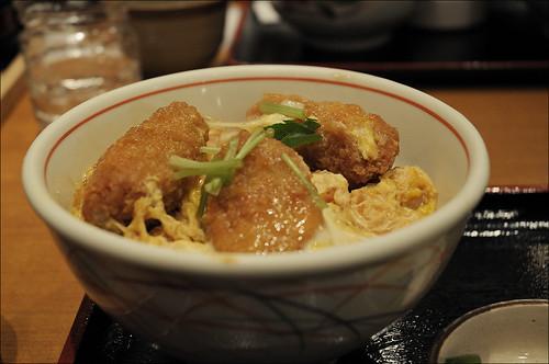 カキフライ丼