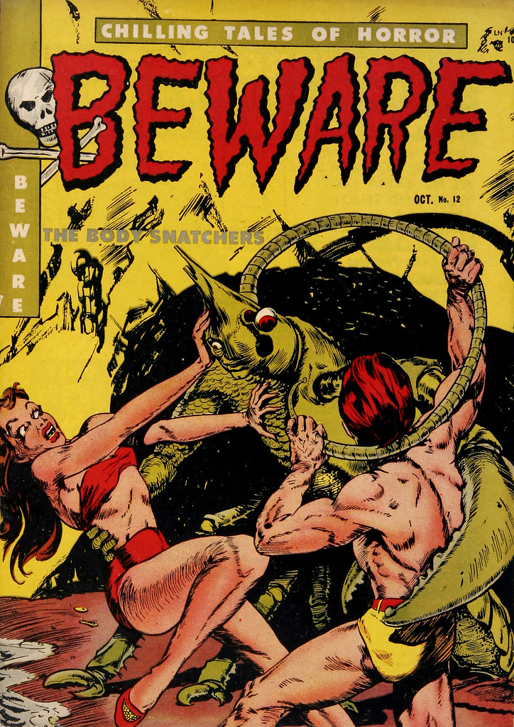 Beware #12 (Youthful Magazines, 1952)
