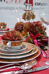 Barocco Tablescape (Made for Versace Rosenthal Sambonet) (maria grazia preda) Tags: christmas italy table candle decoration lifestyle tisch rosso tovaglia interiordesign tablesetting celebrating tessuti decorazione  bicchieri christmastable decoracin centerpieces italianstyle posate tablescapes addobbo centrotavola tischdeko tischdekoration apparecchiare apparecchiatura ricevere candlecenterpieces decorazionetavola tabledecorating mariagraziapreda decorerlatable