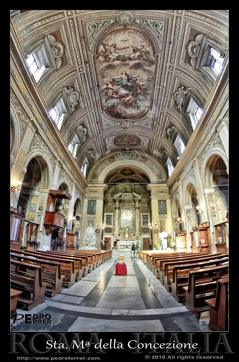 Roma - Santa María della Concezione dei Cappuccini
