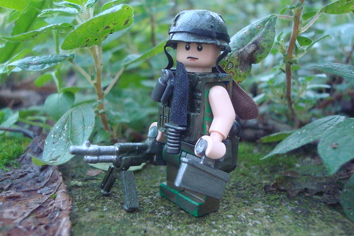 US Nam gunner custom minifig