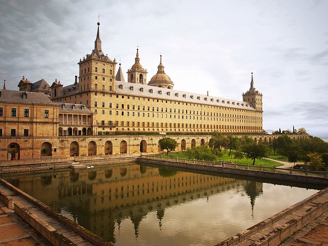 Escorial Monastery, Madrid, Spain pictures