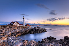 Portland Head Lighthouse (Kay Gaensler) Tags: trip autumn vacation usa fall america canon geotagged eos us united herbst maine kay roadtrip states amerika hdr 2010 capeelizabeth staaten photomatix portlandheadlighthouse vereinigtestaaten vereinigte 40d gnsler gaensler wwwenslerde geo:lat=4362217133 geo:lon=7020851956