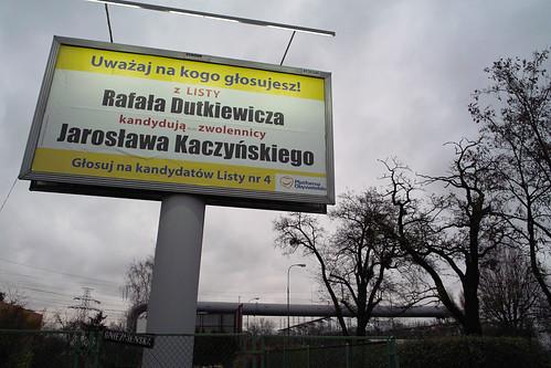 Z listy Rafała Dutkiewicza kandydują zwolennicy Jarosława Kaczyńskiego
