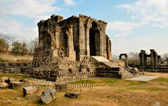 Sun Temple at Martand (mattan) Kashmir....   Ruins of Kashmir (PKG Photography) Tags: holiday building tourism nature temple ancient culture historic celebrations kashmir spirituality salvage heavenonearth gulmarg chinar suntemple pahalgam paradiseonearth chinaar sonmarg amarnathyatra indianheritage historyofindia kashmirindia religioustourism moqsha lalitaditya buildingsofindia kashmiriarchitecture jktourism indianlandmarks kashmirwallpapers pkgphotography ruinsofkashmir indianhistoricalbuildings gettyimagesindiaq3 gettyimagesindiaq4 jammuandkashmirwallpapers kashmirplace