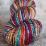 Laines Magnifiques ~Rainbow~ on Elation MCN Sock