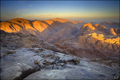 Moses' mountain (katepedley) Tags: longexposure light mountain mountains colour rock sunrise canon dawn golden ancient tripod egypt mount holy moses sacred granite bible 5d geology peninsula musa 1740mm sinai jebel jabal igneous rift polariser gndfilter gebel batholith   plutonic gabal