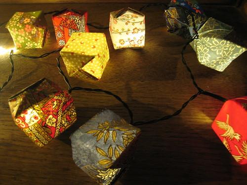Paper Lanterns (Origami Water Balloons)