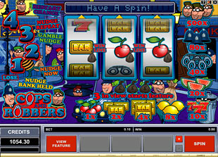 online slot machine cops and robbers slot
