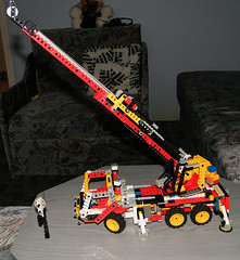 My 8431 mobile crane (hGabesz) Tags: lego crane technic 8431