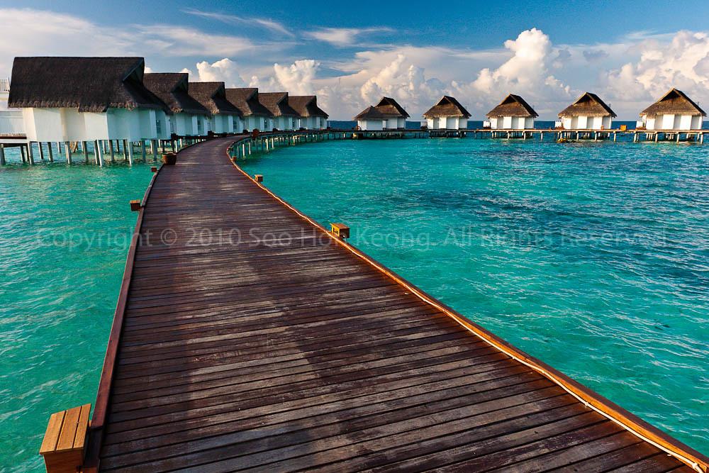Morning Light @ Centara Grand Island Resort & Spa Maldives