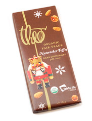 Theo Nutcracker Toffee Dark Chocolate Bar
