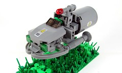 Armoured Hover Truck - fuel carrier (Karf Oohlu) Tags: lego frog moc foitsop frogspace legofrog froglaw hovervehicle