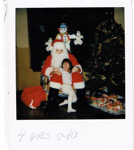 Sarah & Santa Age4 BLOG