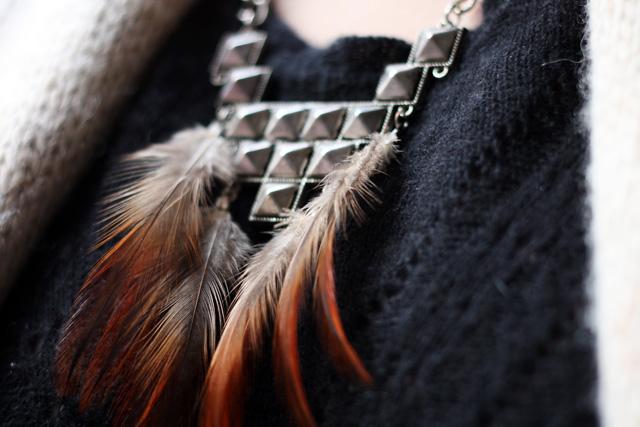 plumes et metal